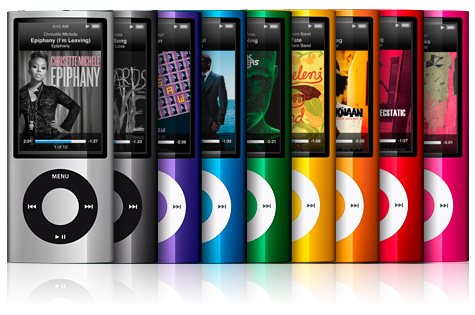 Apple представляет обновленные плееры iPod nano
