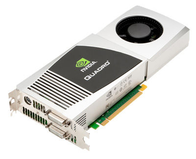 Nvidia анонсировала Quadro FX 4800 для Mac