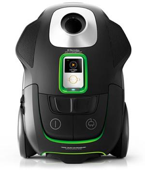 Пылесосы Electrolux UltraSilencer с поддержкой Apple iPod