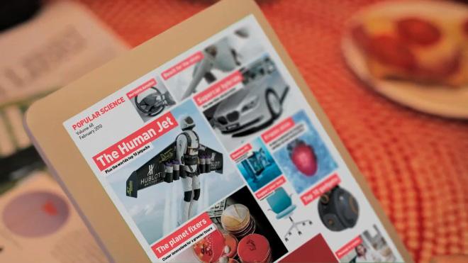 eReader — возможно таким будет Apple Tablet?