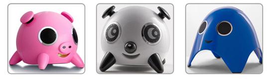 Док-станции iBoo, iPig и iPanda — маленькие радости iPod