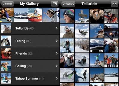 Apple обновила приложение MobileMe Gallery для iPhone