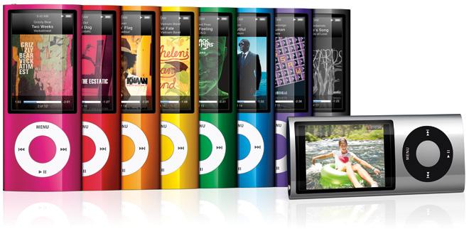iPod nano 5G: впечатления
