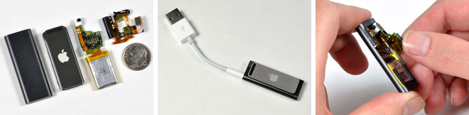 Новый iPod Shuffle 3G: разбираем до винтиков