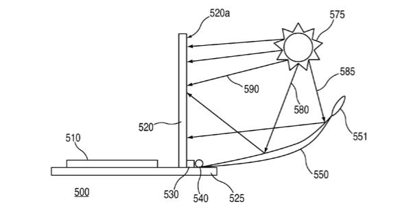 MacBook на солнечных батареях — новый патент Apple
