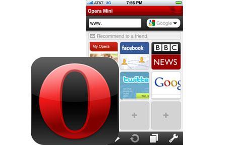 Opera Mini – первый блин комом?