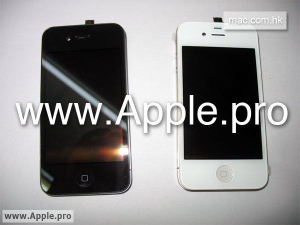 Эксклюзивные фотографии белого iPhone 4G
