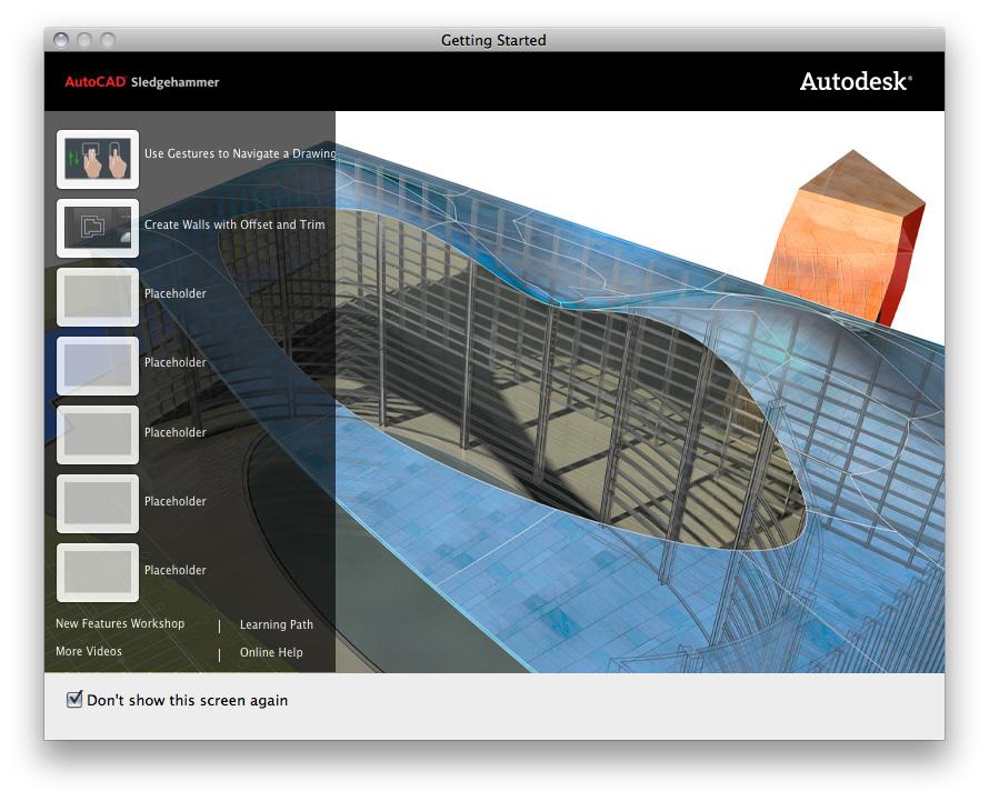 AutoCAD возвращается на Macintosh после 18-летнего перерыва