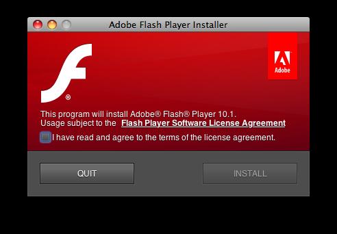 Флэш плеер Gala поддерживает аппаратное ускорение H.264 в Mac OS X