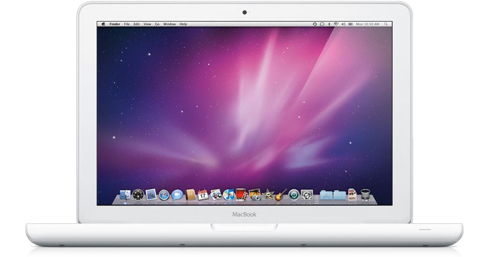 Тихое обновление MacBook White