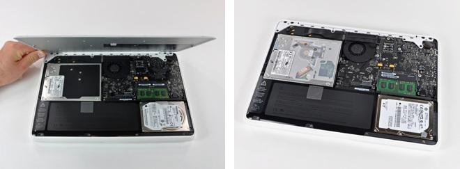 Батарея от нового MacBook совместима с белыми MacBook предыдущего поколения