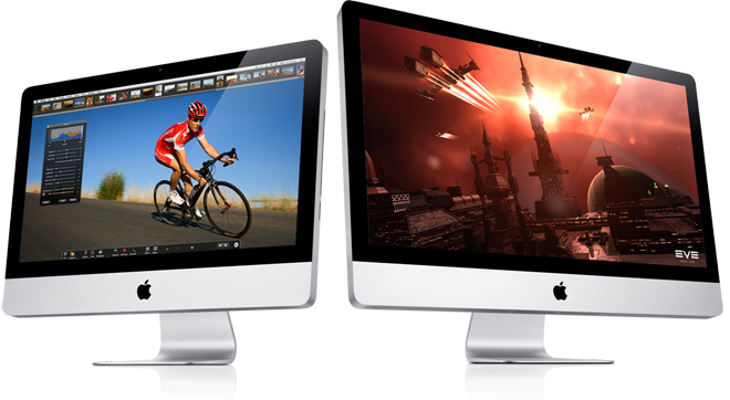 Обновленные Apple iMac — прощай, Core 2 Duo!
