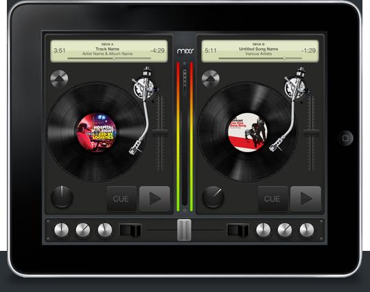 MIXR — iPad атакуют Dj приложения