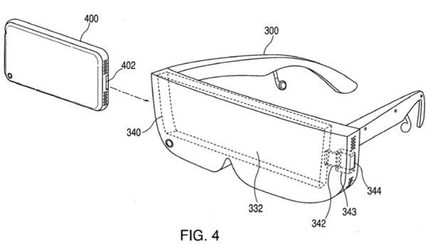 Apple патентует док-станцию для iPhone в виде очков