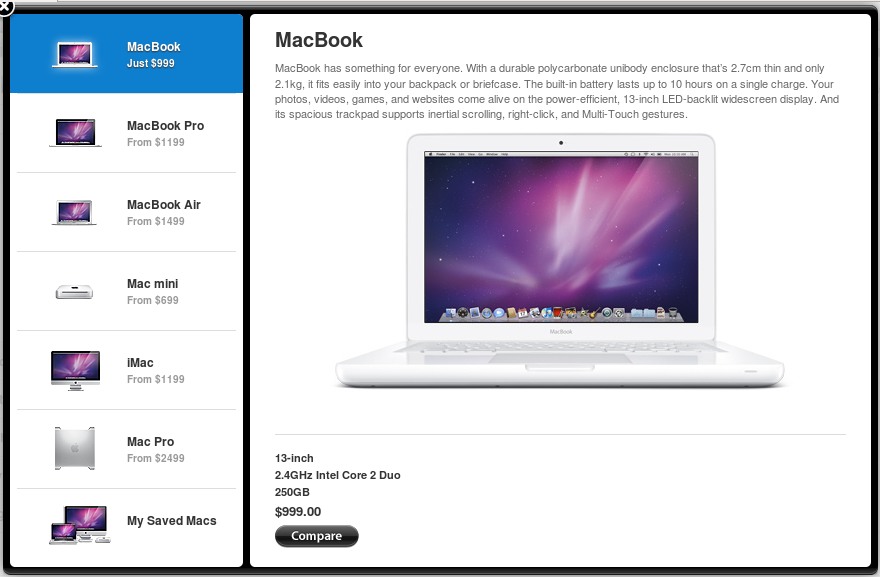 Сегодня ночью Apple добавила новую возможность в раздел о Mac