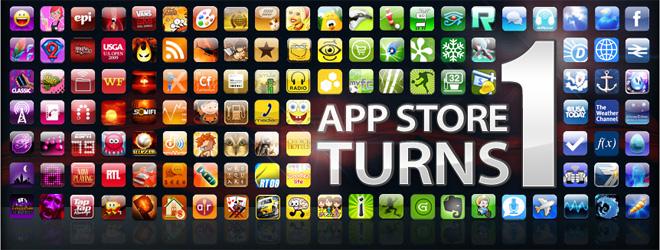 App Store празднует годовщину