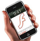 Adobe и Apple работают над Flash для iPhone