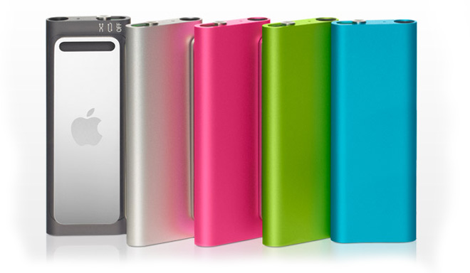 Новые iPod Shuffle: маленькому плееру — маленькое обновление