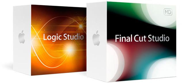 Apple выпускает Final Cut Studio 3 и Logic Studio 2