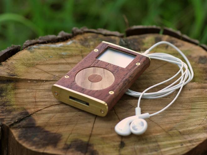 Мечта «зеленых» — деревянный iPod