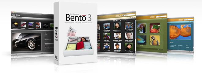 В новой версии Bento 3 обзавелся интеграцией с iPhoto