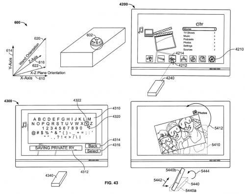Несколько новых патентов Apple
