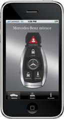 Mercedes-Benz выпустил свое приложение для iPhone