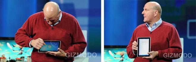 Microsoft представила планшетный компьютер на ОС Windows 7