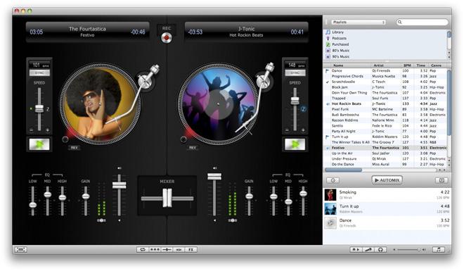 Премьера MacWorld 2010 — программное обеспечение djay 3