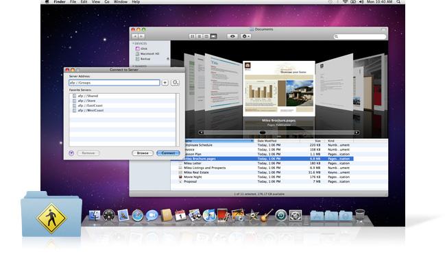 Snow Leopard Server: файловые сервисы