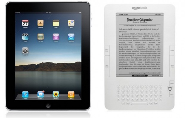 Стив Джобс уверен в победе iPad над Amazon Kindle