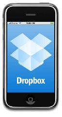 Приложение Dropbox для iPhone