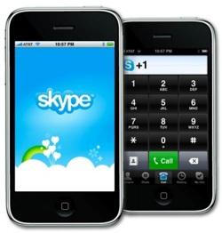 Новый Skype для iPhone умеет звонить через сети 3G