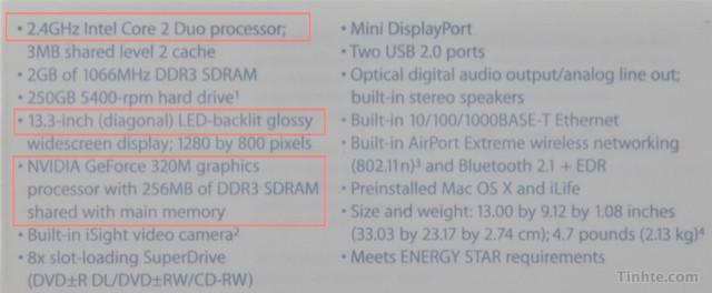Въетнамцы показали обновленный MacBook White