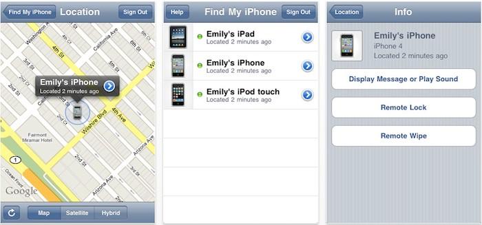 Apple выпустила приложение Find My iPhone