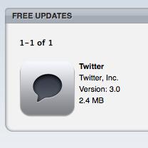 В App Store обнаружен официальный клиент Twitter