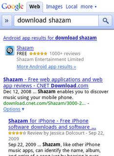 Со вчерашнего дня поиск Google знаком с приложениями iPhone и Android