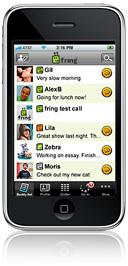 Приложение Fring позволяет совершать видеовызовы на iPhone 4 через сеть 3G