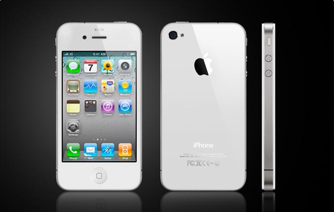 Поставки белого iPhone 4 задерживаются