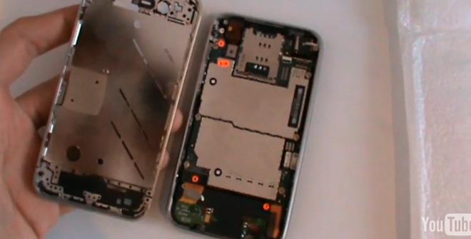 Apple iPhone 4G в деталях