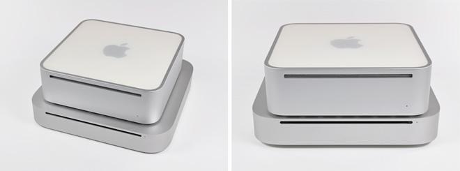 Новый Mac mini Mid 2010 крупным планом