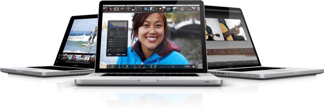 Apple представляет новые MacBook Pro на процессорах Core i5 и Core i7