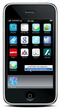 """Apple: """"Приложения, разработанные в PhoneGap допускаются в AppStore!"""""""