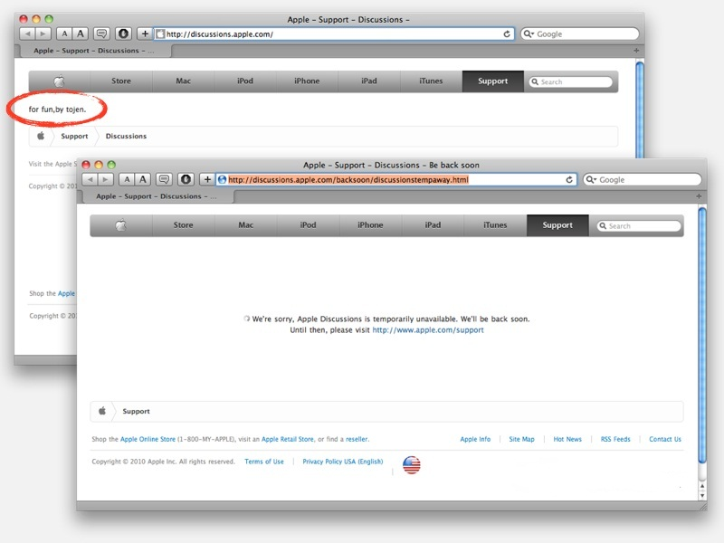 Сайт онлайн-поддержки Apple и сервис Apple ID были атакованы хакерами