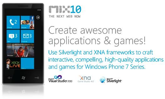 Microsoft открывает доступ к Windows Phone 7 SDK